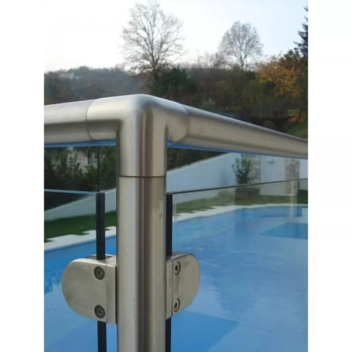 Stainless Steel Railing Fittings Tube Connector Elbow 3 Way Tee Handrail Elbow For Balustrade