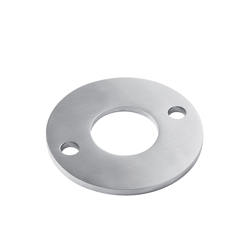 Railing Components Stainless Steel Disc Base Plate With Three Holes