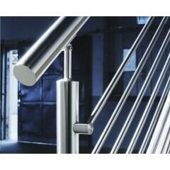 stainless steel balustrade cross wire glass bar holder for railing