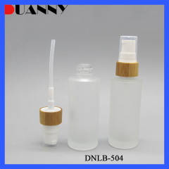 DNLB-504 Glass Cosmetic Lotion Pump Bottle