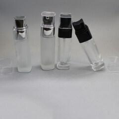 DNLB-516 Square lotion glass bottles
