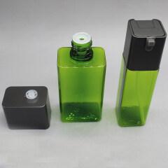 DNBT-510 Flat Square PET Toner Bottle