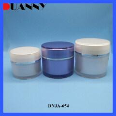 ROUND PLASTIC JAR DNJA-654