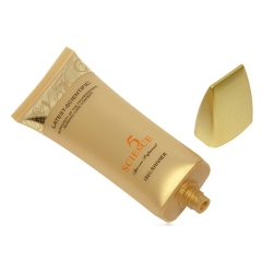 High Quality Oval Shape Plastic Sunscreen Cream Packaging Tube