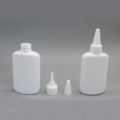 DNNX-503 Oval Plastic Cosmetic Nail Glue Bottle