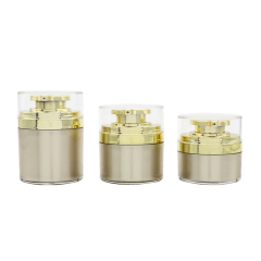 Acrylic Airless Cream Pump Jar For Lotion DNJA-586