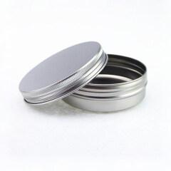 Empty 100g Aluminum jar 100g Aluminium Tin with Screw Lid