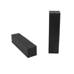 DNTL-552 Black Plastic Square Lipstick Tube