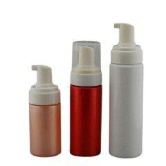 Wholesale Round Clear PET 5 oz Foaming Bottle with Pump
