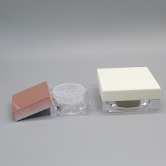 DNJF-560 SQUARE POWDER JAR WITH SIFTER