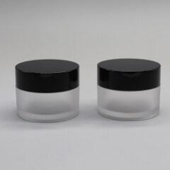 Transparent PETG Cosmetic Cream Jar Packaging