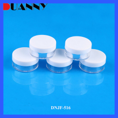 7g Plastic Round Cosmetic Jar Packaging for Loose Powder