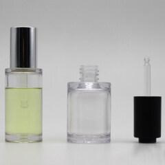 wholesale custom bottle droppers PETG serum bottle with dropper 1 oz cylinder dropper bottles