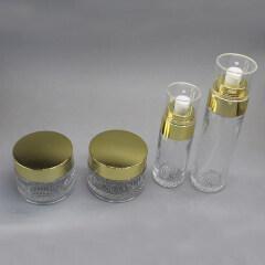 ROUND GLASS JAR DNJB-500