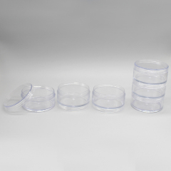DNJF-566 STACKABLE PLASTIC POWDER JAR