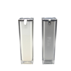 DNLA-511 Acrylic Square Airless Lotion Pump Bottle