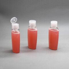 DNBL-551 oval bottle for sanitizer bottle hand
