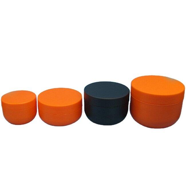 120ml Plastic Bowl Shape Cream Jar for Hair Wax