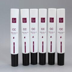 10ml 25ml 30ml Plastic Cosmetic Eye Cream Tube with Clear Dropper Applicator