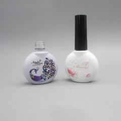 Wholesale Elegant Glass 3D Printed Nail Polish Bottle