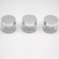 30g 50g luxury thick wall small cosmetic cream jar wholesale PETG plastic jar for cream