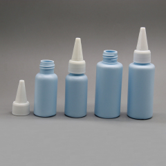 DNLPE-502 Plastic PE Round Paint Bottle