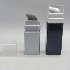 DNLS-500 Square PS Spray Lotion Pump Bottle