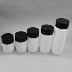 DNAP-524 PP Airless Pump Bottle With Black Flip Top Cap