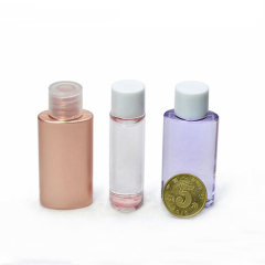 DNBT-501 Oval Plastic Small Cosmetic Toner Bottle