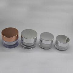 ROUND PLASTIC JAR DNJA-599