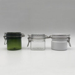 wholesale luxury private skin care empty Label Stickers White Guangzhou Cosmetic Jars