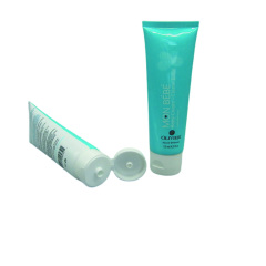 Empty Custom 4 oz 120ml Pink Cosmetic Cream Tube for Face Cleaning
