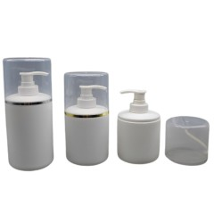 DNBH-511 Round HDPE Plastic Shampoo Bottle with Pump