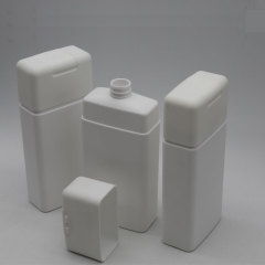 DNBH-523 square shampoo bottle with flip top cap
