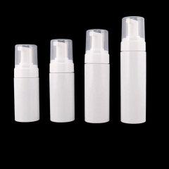 Wholesale Empty 2oz 60 ml White PET Plastic Foam Pump Bottle Printing logo
