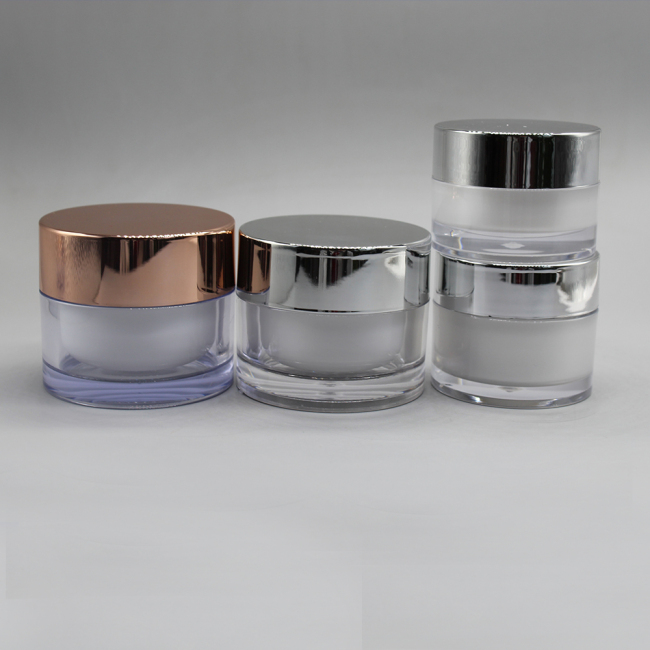 20g 30g 50g 100g recycled plastic cosmetic cream jars container for skin care