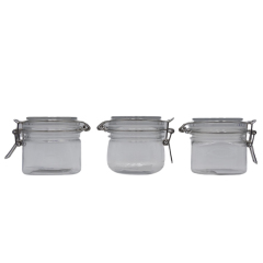 Hot Sell 150ml 200ml 250ml 500ml Air Tight PET Plastic Cosmetic Jars