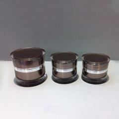Wholesale Empty Cream Plastic oem Cosmetic Sample acrylic jar supplier 5Ml 15Ml 30Ml 50Ml