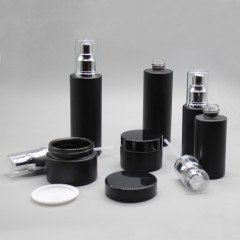 DNLB-501 matt frosted glass lotion bottle spray