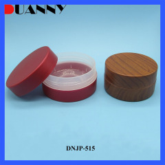 Duannypack New material PCR PP Skin Care Plastic Bamboo Jar Packaging For Cosmetic Skin Care