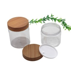 Empty 200ml 250ml 300ml 500ml PET Cosmetic Jar for Hair Products Body Butter