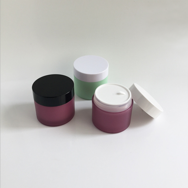 Duannypack Custom Color and Logo cosmetic frosted 150ml pp pot jar for skincare