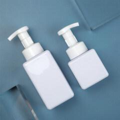amber cosmetic foam pump bottle DNBF-510