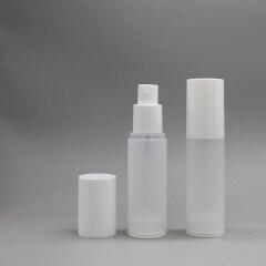 DNLP-504 Airless Decorative Plastic  Pump Lotion Bottle