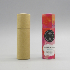 Wholesale Round Empty Cosmetic Paper Tube Container for Lip Care