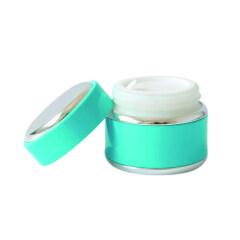 Eco Friendly 15ml 30ml 50ml Luxury Aluminium Glass Packaging Jars For Night Cream