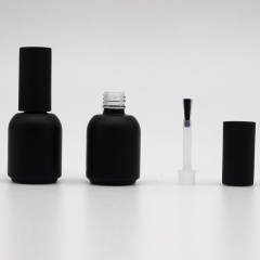 DNNU-537 colorful nail polish  bottle with silver cap