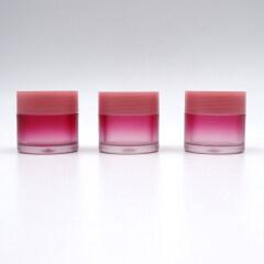 Most Popular round clear 20g plastic lip scrub jar bulk lip scrub jars custom logo