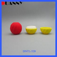 DNTL-520 Plastic Ball Lip Balm Tube Container