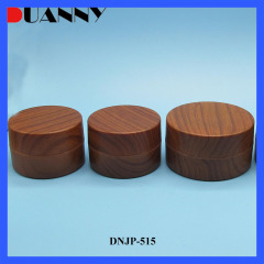 Wholesale 100g Round PP Bamboo Cosmetic Jar